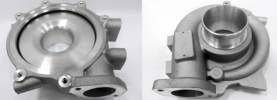 Turbo Charger Housing made by Gravity Die Casting