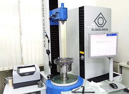klingelnberg gear testing machine