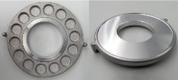 aluminum support disc die casting