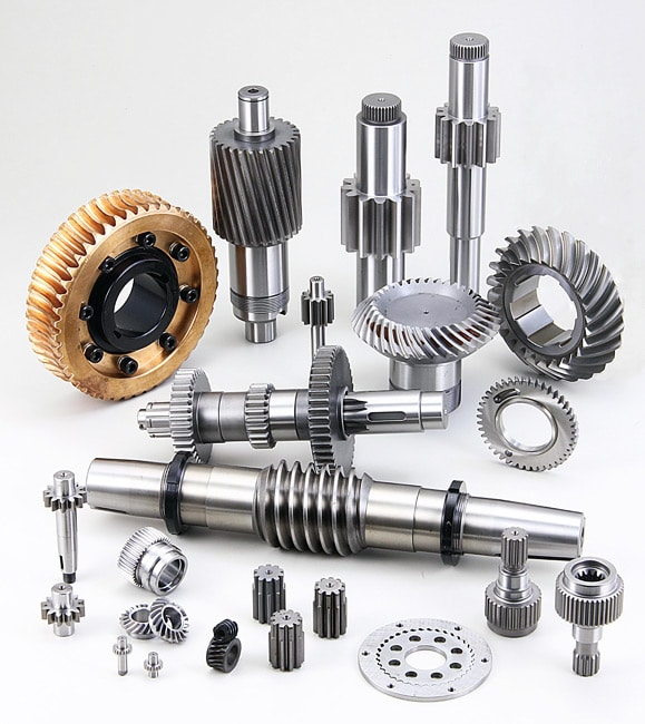 Custom worm gears manufacturing company & shaft supplier services