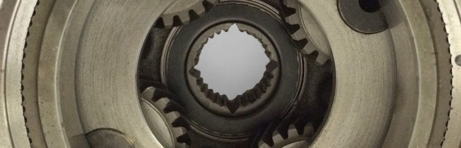 Planet gears used in powertrain applications