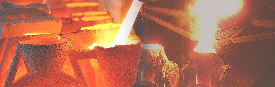 Molten metal investment casting