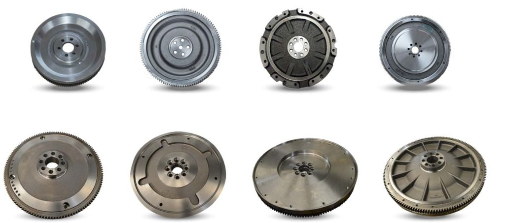Single mass flywheel manufacturing