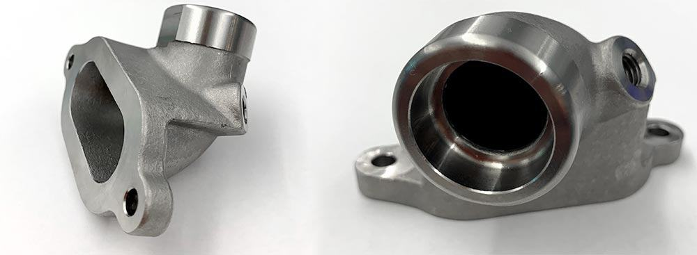 Stainless Steel Flange - casting machined